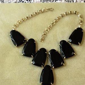 Kendra Scott Harlow statement necklace in black
